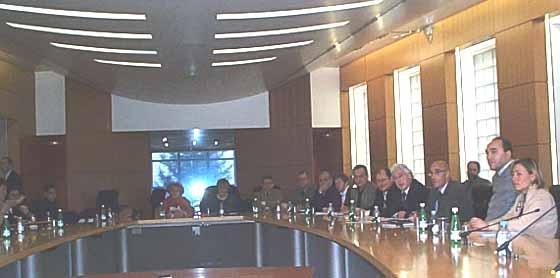 Table ronde du 11 mars 2002 au ministère délégué aux personnes handicapées, rue Bracion à Paris