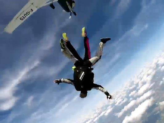 Osez le parachutisme !
