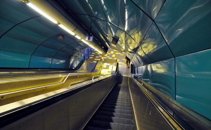 Le métro de Marseille s'y met !