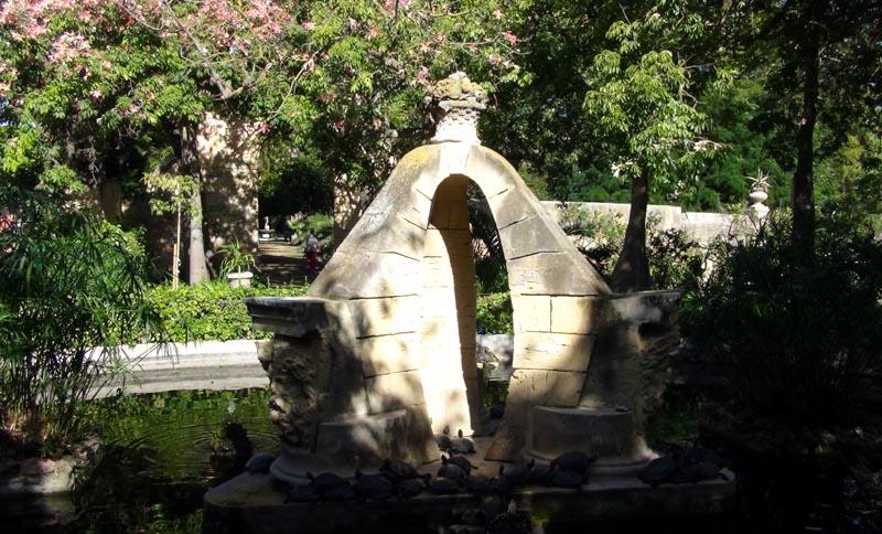Attard, jardins du palais Saint-Antoine.