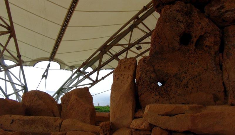 Temples d'Hagar Qim.