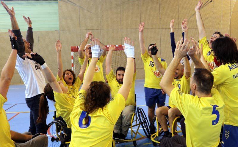 À la découverte du handball.