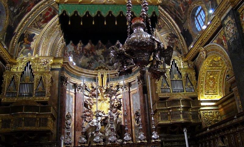 La Valette, co-cathédrale Saint-Jean.