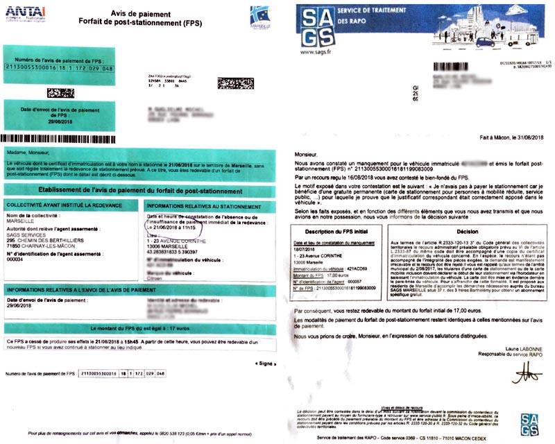 Documents FPS ANTA et SAGS.