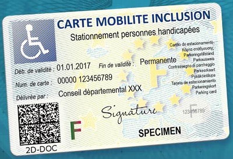 Carte Mobilité Inclusion