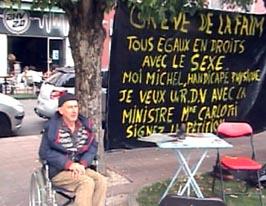 Olivier Claeys, 'handicapé' à Tarbes