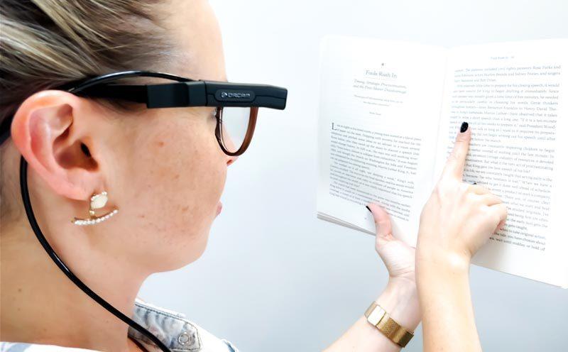 Une caméra pour lire et repérer