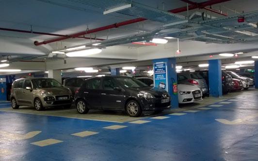 parking souterrain privé en région parisienne