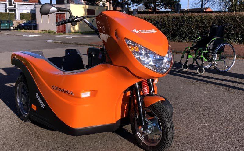 Le FD Pendel, un scooter à trois roues
