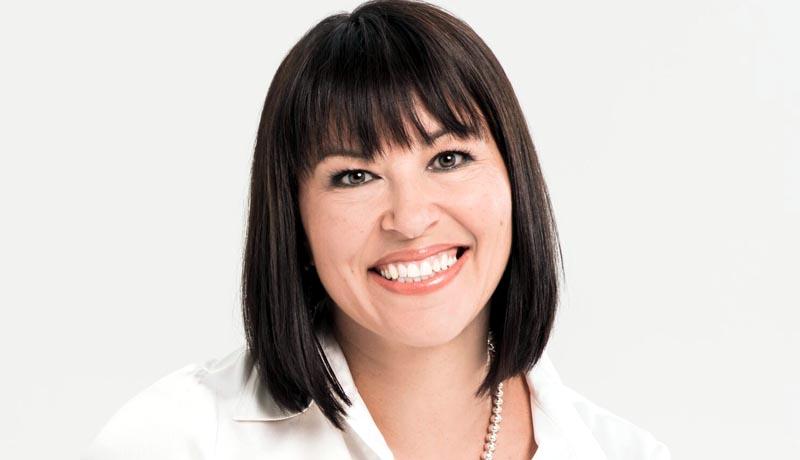 Chantal Petitclerc, sénatrice handisportive.