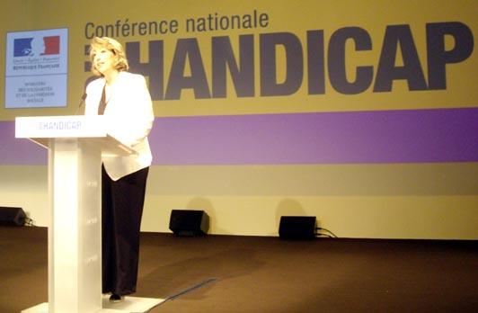 discours de Marie-Anne Montchamp durant la CNH