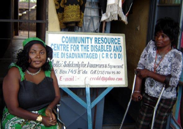 Être femme handicapée au Cameroun
