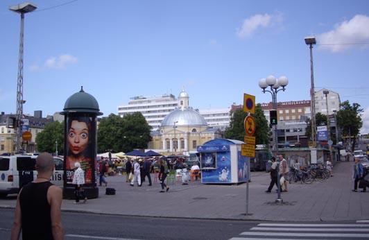 place centrale de Turku