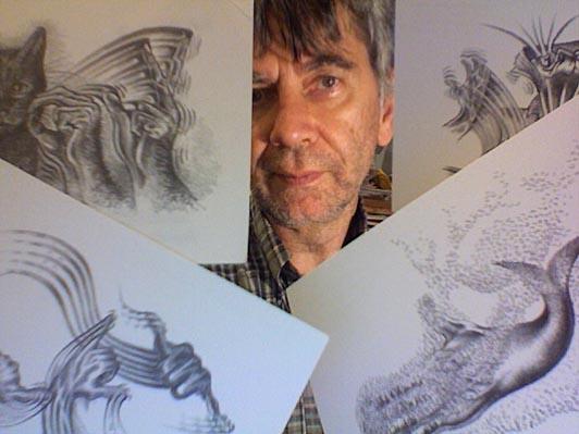 Levent Beskardes et ses dessins