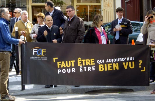 manifestation de la FAF