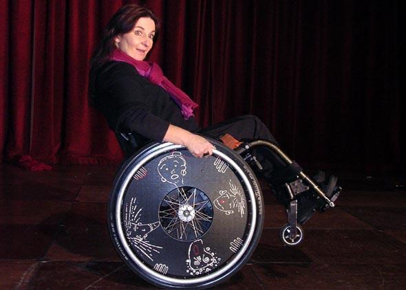 Marielle Rivière, «Rolling Woman»