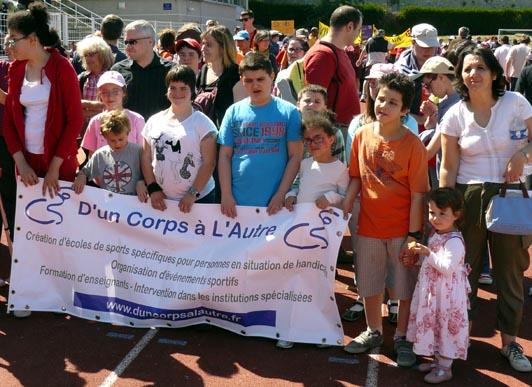 Le sport ouvert aux enfants handicapés