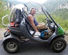 En mini caravane adaptée
