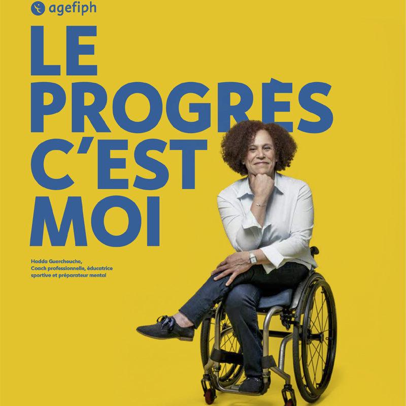 Le progrès c'est moi, proclament Hadda Guerchouche et l'Agefiph
