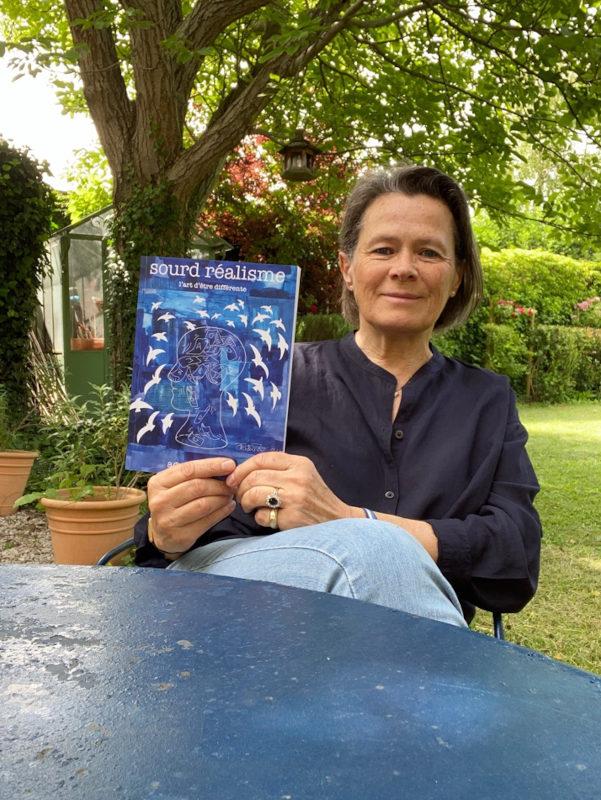 Agnès Fédrizzi et son livre 2