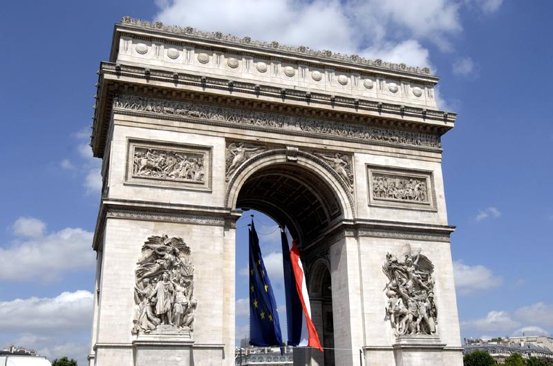 Arc de triomphe © Patrick Cadet - Centre des monuments nationaux