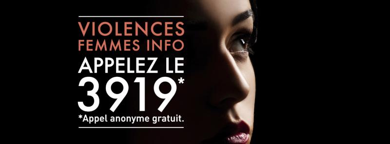 Bannière violence contre les femmes