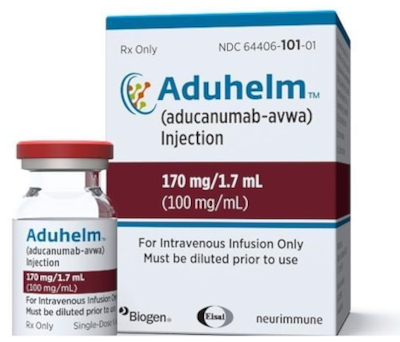 Boîte d'Aducanumab
