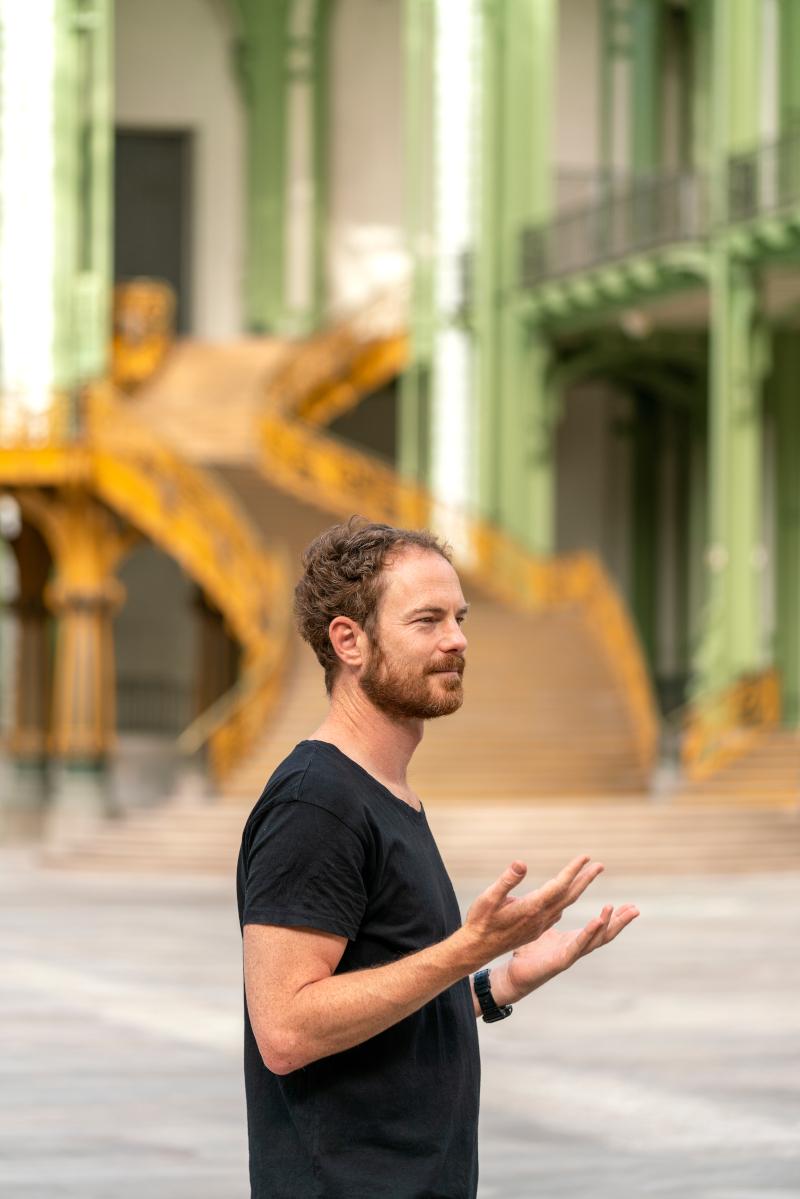 Boris Charmatz au Grand Palais ©Marc Domage pour la Rmn-Grand Palais, 2020