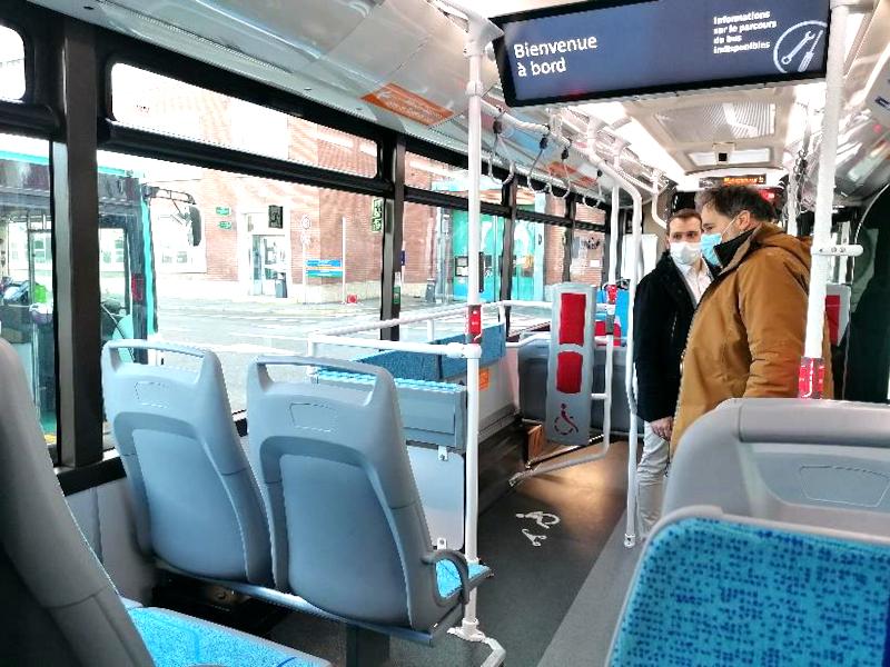 Bus expérimental RATP