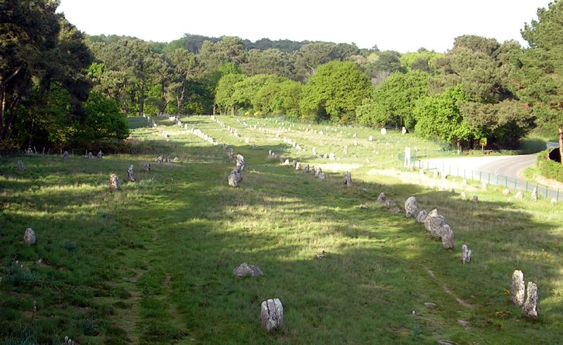 Carnac site mégalithique alignements depuis tour belvédère ©Yanous.com
