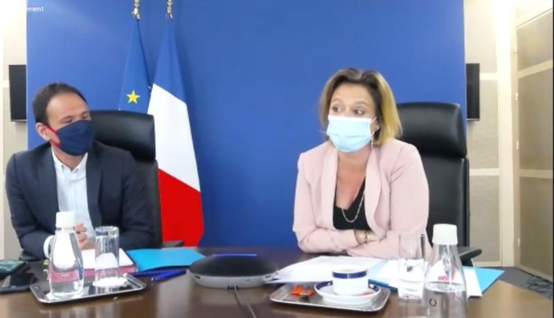Cédric O et Olivia Grégoire