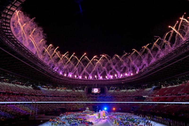 Cérémonie de clôture des Jeux Paralympiques de Tokyo