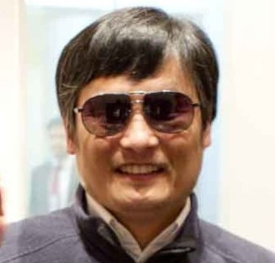 Chen Guangcheng à l'ambassade des USA le 1er mai 2012