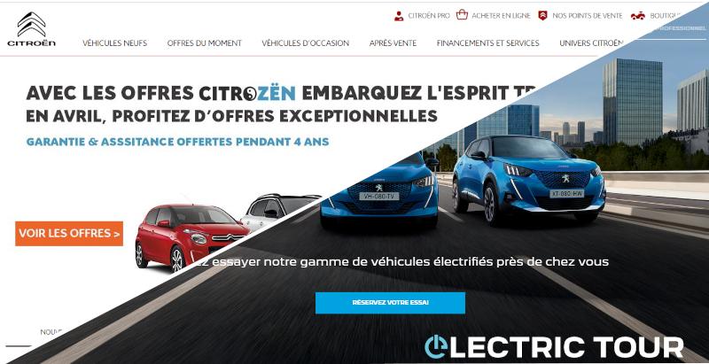 Citroen.fr et Peugeot.fr