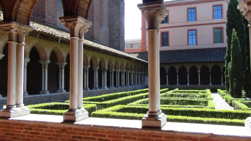 Cloître des Jacobins de Toulouse