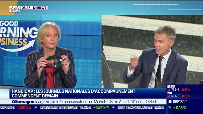 Sophie Cluzel sur BFMTV