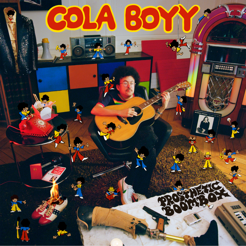 Cola Boyy - Prosthetic Boombox (RVB)