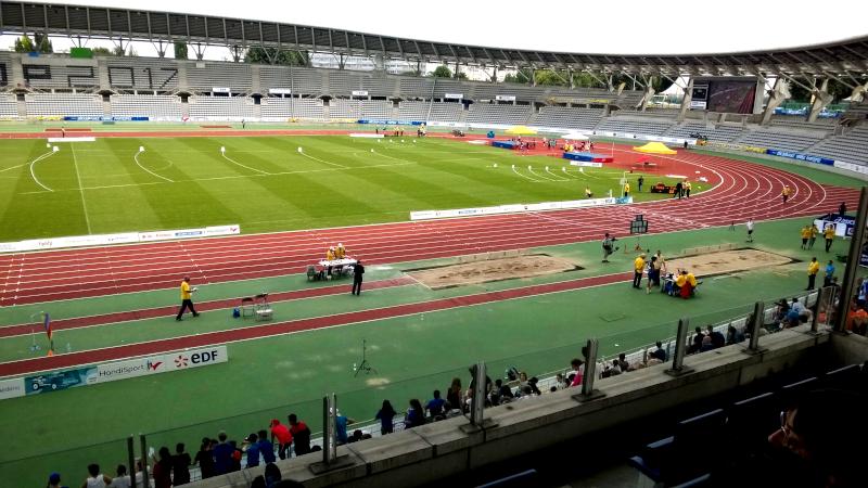 Compétition internationale handisport au stade Charléty à Paris ©Yanous.com