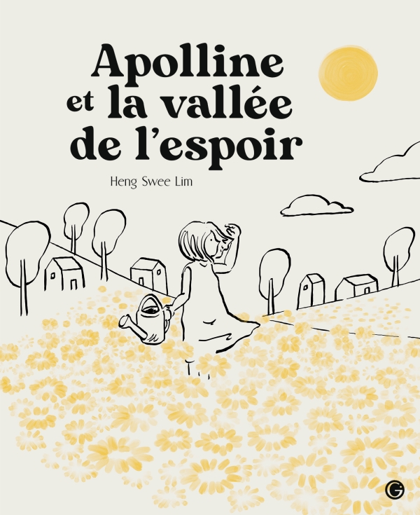Couverture du livre Apolline et la vallée de l'espoir