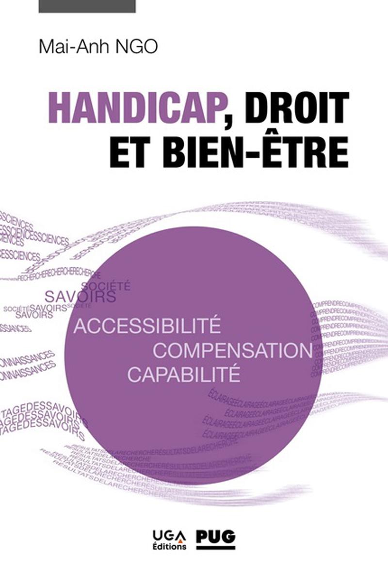 Couverture du livre Handicap, droit et bien-être