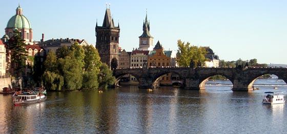 Pont Charles à Prague.