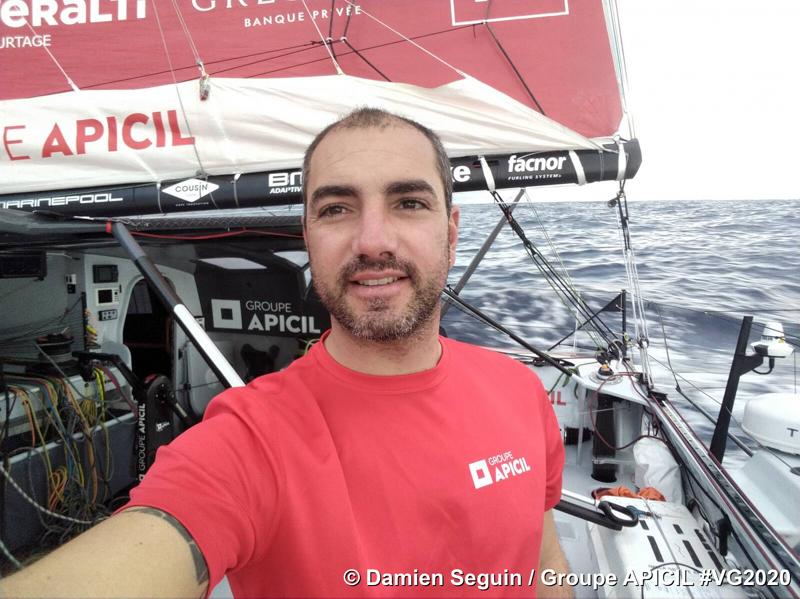 Damien Seguin au 7e jour de course ©Damien Seguin Groupe APICIL
