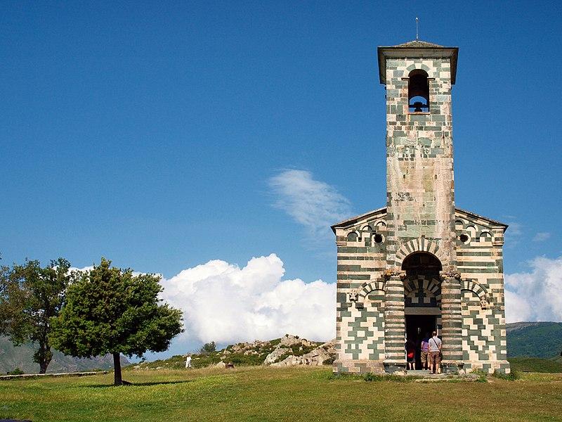 Eglise Saint-Michel à Murato ©Pierre Bona