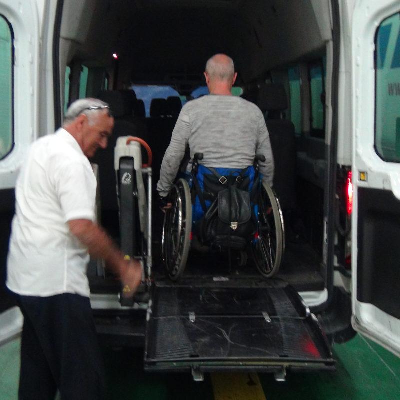 Embarquement en transport spécialisé ©Yanous.com