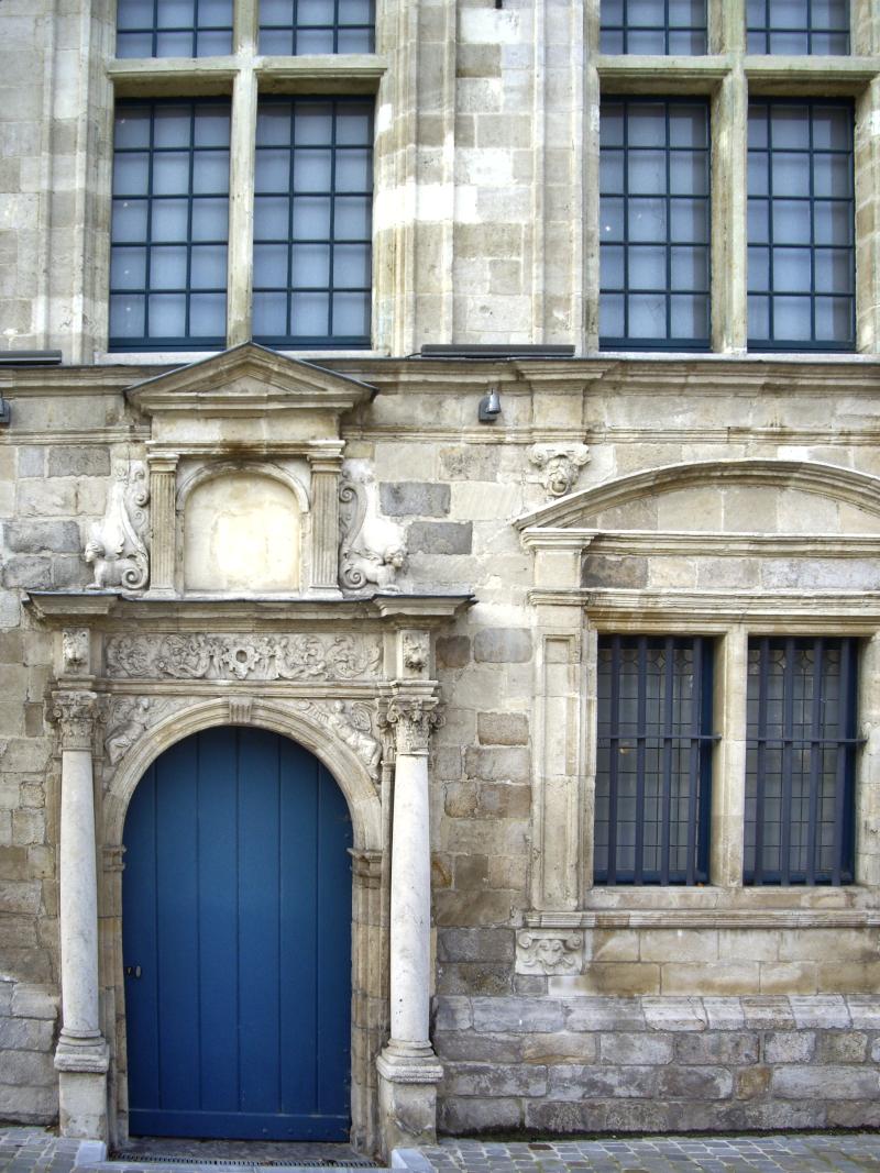 Entrée Renaissance du musée de Flandre  à Cassel