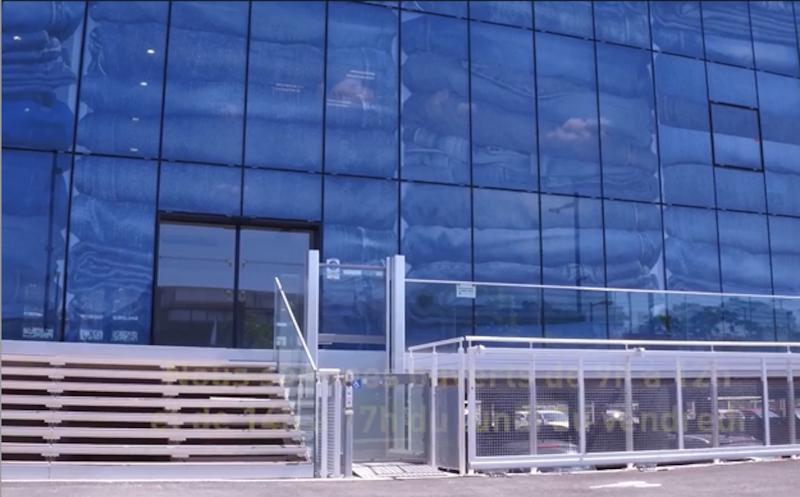Entrée de la Maison départementale du Gard