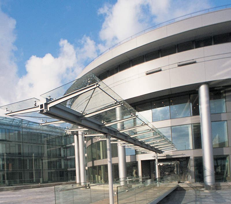 Entrée du Conseil départemental du Haut-Rhin