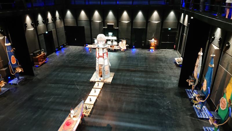 Exposition du Tura Théâtre à la Maison de la Culture de Bourges ©Yanous.com