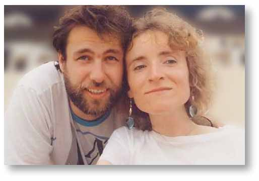 Florence Fruton et son mari Bruno