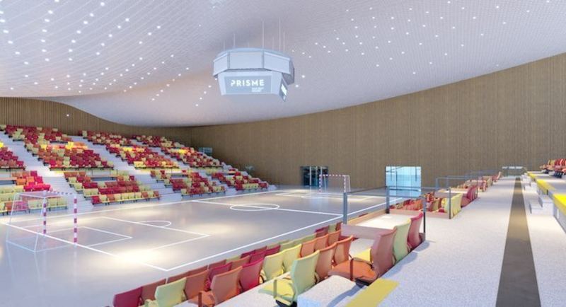 Future salle du Prisme